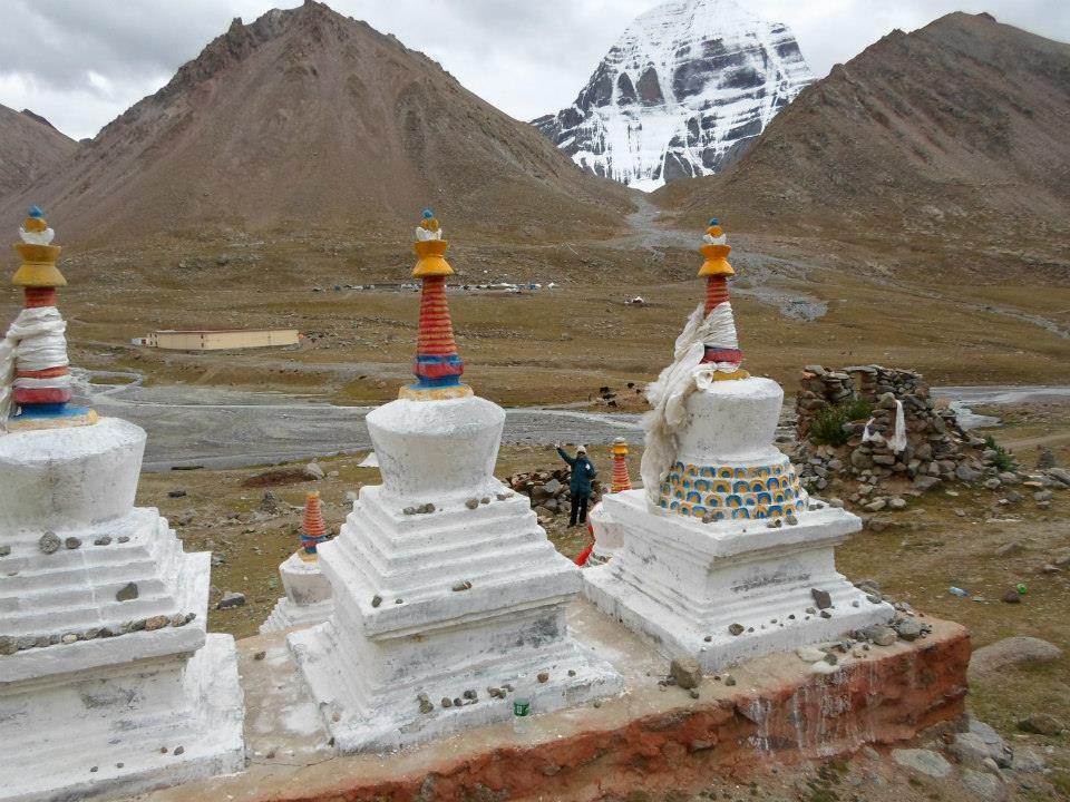 Место первой ночевки - монастырь Дира Пхук.