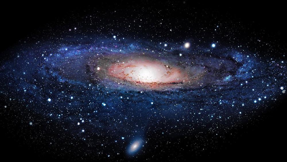 Математические расчеты показали, что галактика плоская, потому что в ней недостаточно вещества для образования сферы.