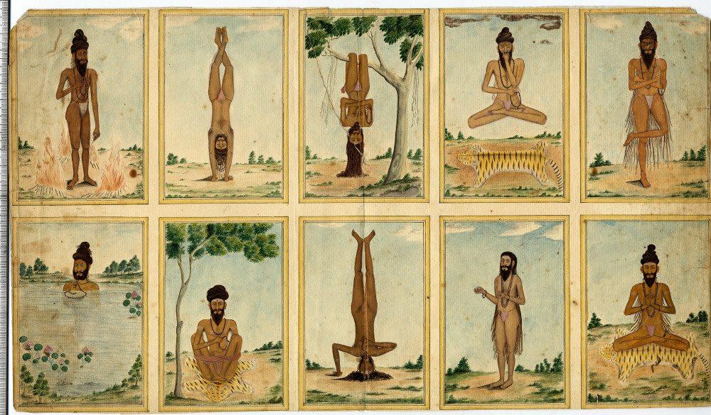 Асаны, описанные в средневековых текстах, обычный человек без тренировки и подготовки выполнить просто не сможет.
