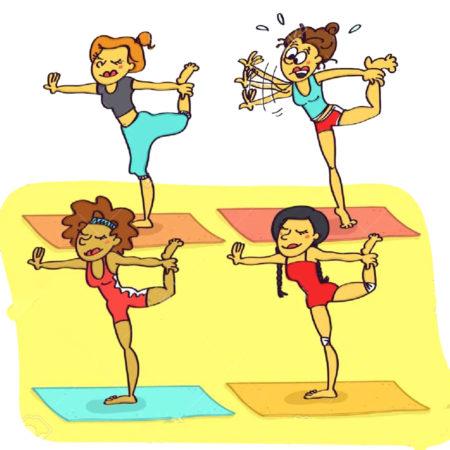 У многих людей, делающих первые шаги в йоге, нет навыка ощущения своего тела.