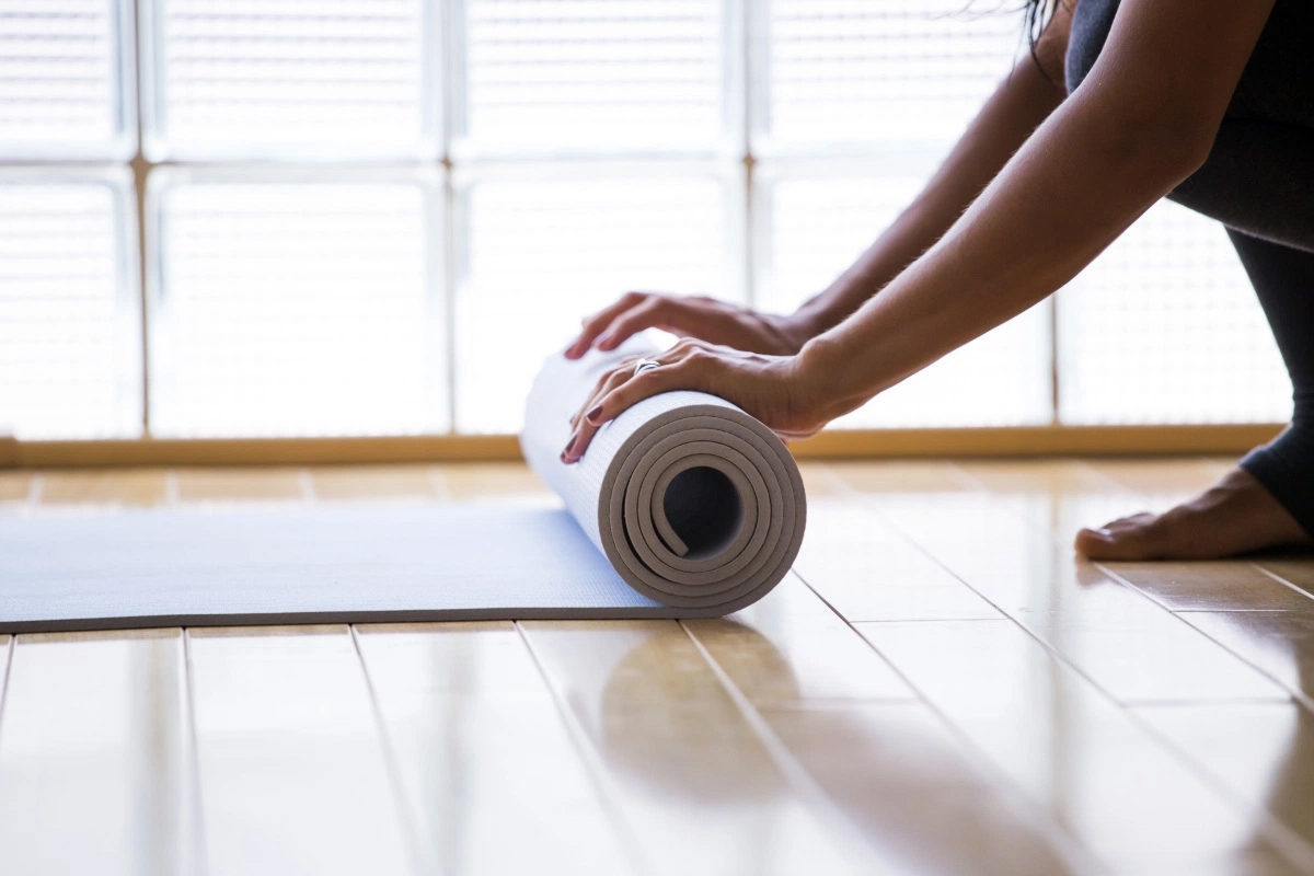 Как заставить себя расстелить коврик?